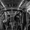No metro em Paris
