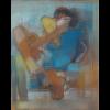 Un abrazo azul para Ahmad al Hammoud, por Olga Patiño