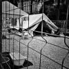 """""""Acampamento de refugiadxs"""", por Paula Gómez del Valle"""
