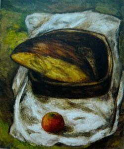 Colmeiro, Cesta de pan  (1932, Pinacoteca Fernández del Riego, Vigo