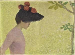 Maillol. Profil de femme, 1896