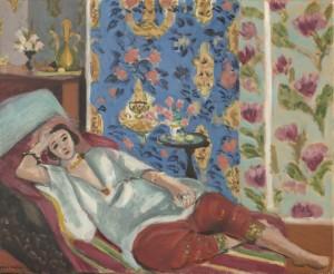 Matisse. Odalisque à la culotte rouge, 1914