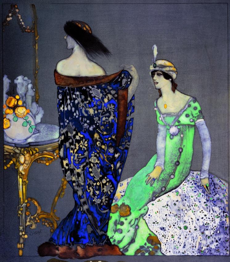 Gosé, Le manteau bleu,1912 (Museu Jaume Morera)