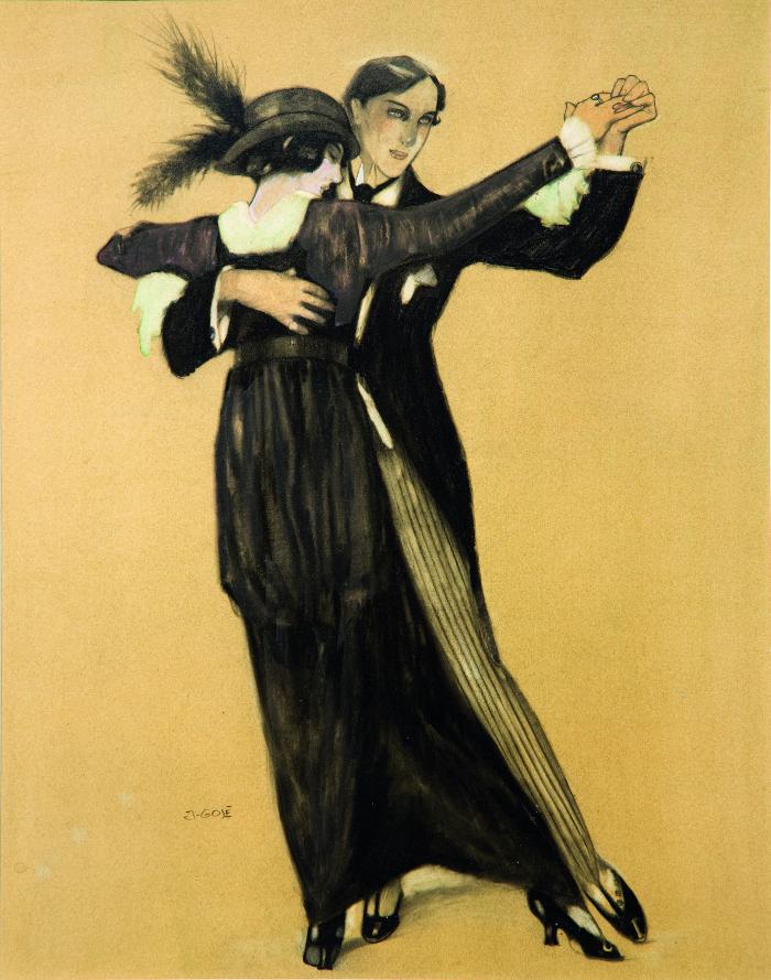 Gosé. Parella ballant, 1913. Collección particular