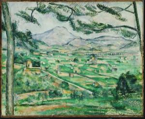 Cézanne. A montaña Sainte Victoire (1886-1887)
