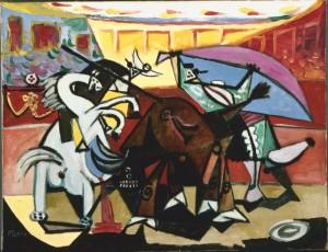 Picasso Corrida-de-touros,1934