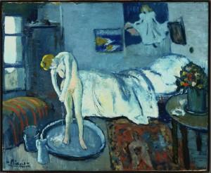 Picasso, Habitacion-azul,1901