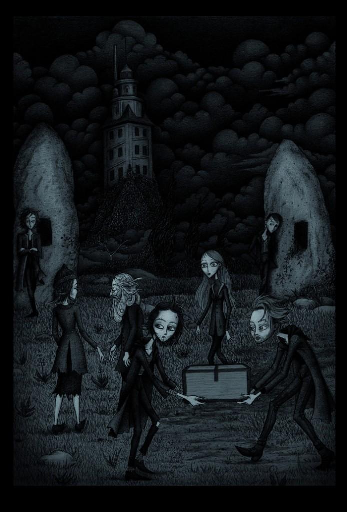 Negruña Xosé Duncan capítulo 2 ilustrado por Segismundo Rey