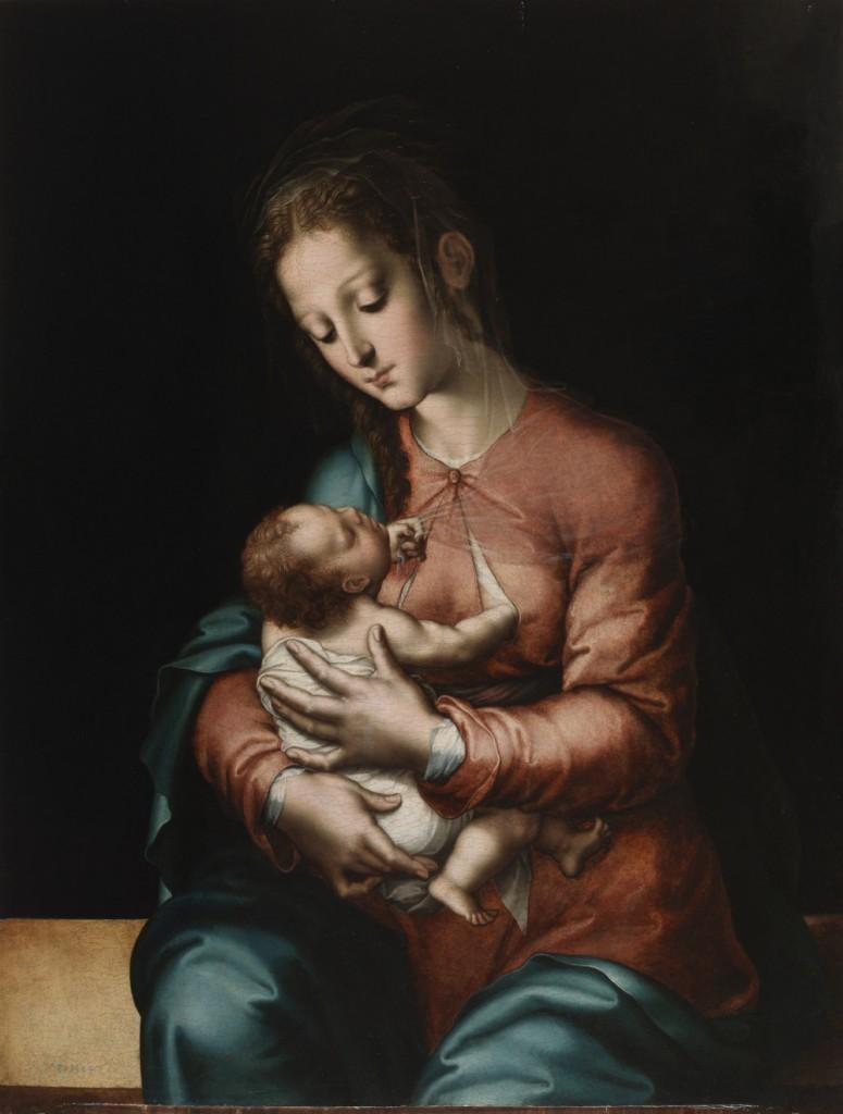 Morales,La virgen de la leche.1560