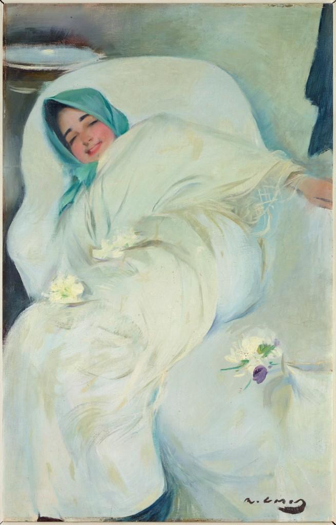R. Casas. Angustias. 1898