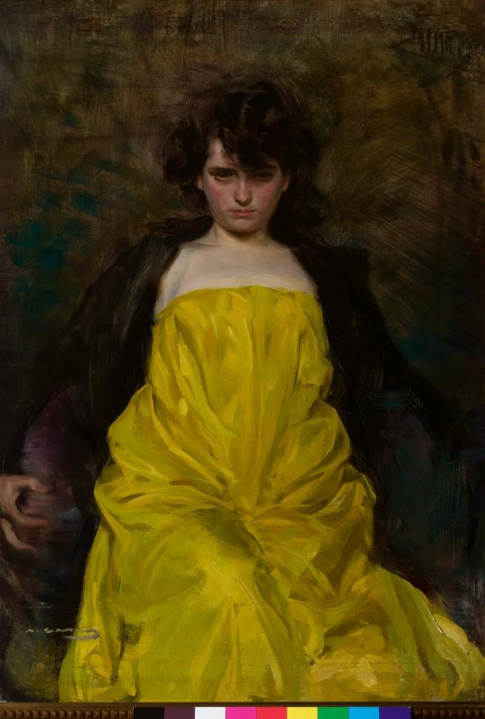 R. Casas. La sargantain. 1907