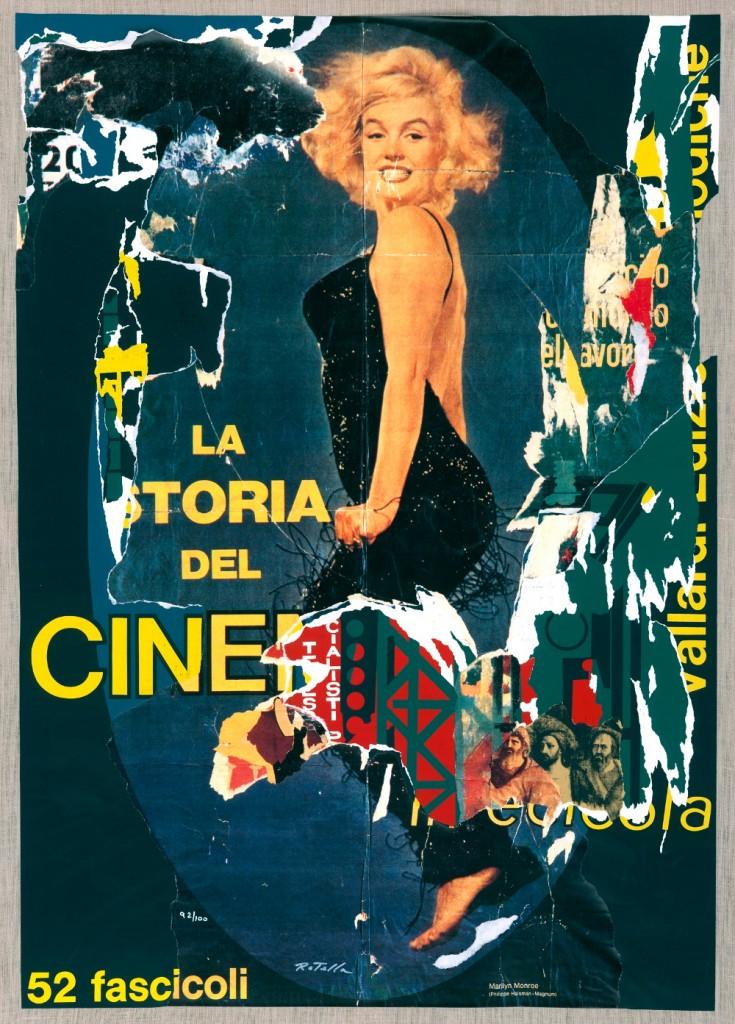 Rotella. Las Storia del Cinema.1966