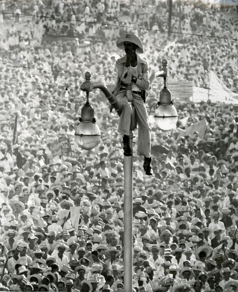 KORDA, El Quijote de la Farola, Plaza de la Revolución, LHavana, Cuba 1959
