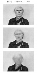 Michals. Andy Warhol. 1972