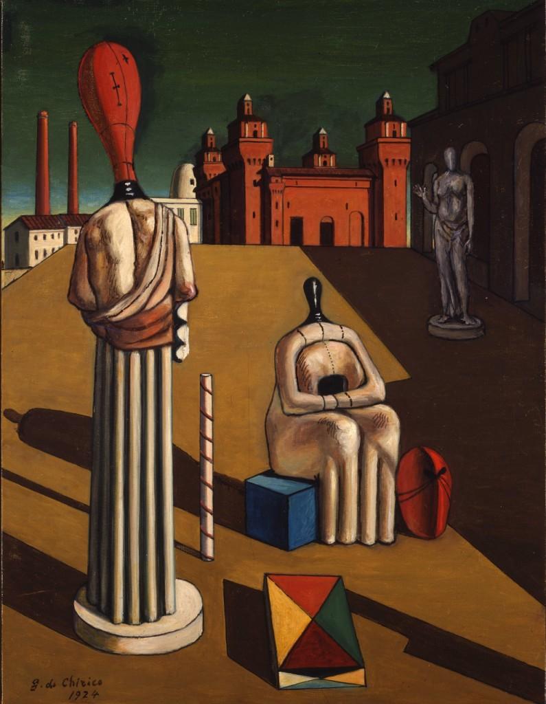 de Chirico. Le Muse Inquietanti. 1947