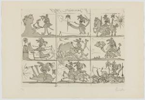 Picasso_Suenho y mentira de Franco I_1937