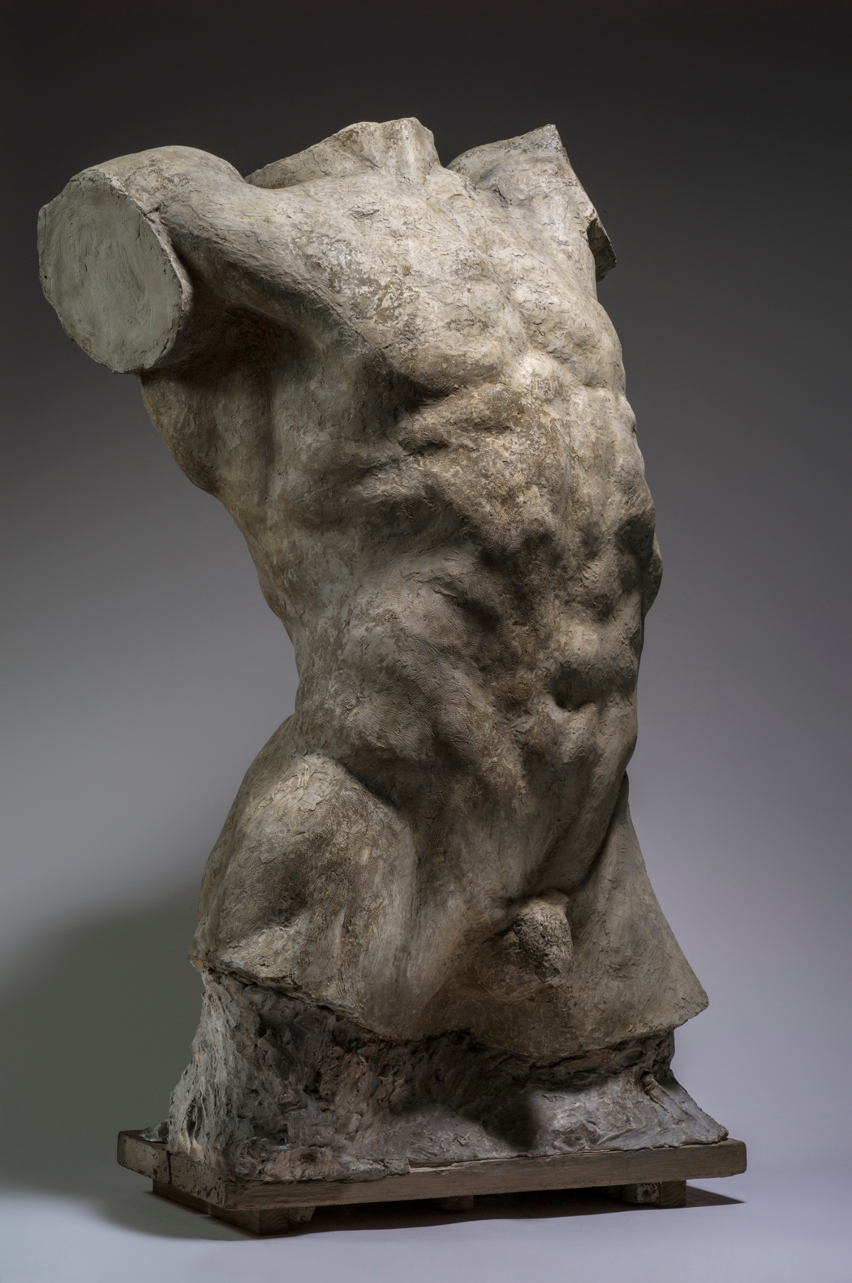 Rodin_Torse dHomme que tombe_1904