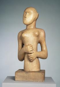 H. Moore. Seatled Figure. 1929