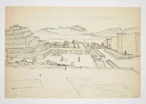 Le Corbusier, Mondaneum, Géneve, 1929