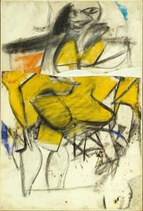 W. de Kooning. Woman. 1952